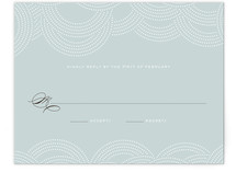 Pearls on a String Print-It-Yourself RSVP Cards