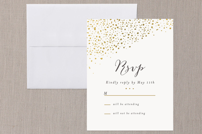 """Dipped Feathers"" - Bohemian Print-it-yourself Rsvp Cards in Mint by Pistols."