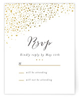 Dipped Feathers Print-It-Yourself RSVP Cards