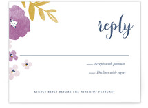 Fresh Cut Print-It-Yourself RSVP Cards