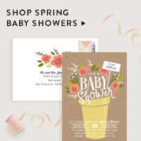 Baby & Kids Nav Ad: Spring Baby Showers