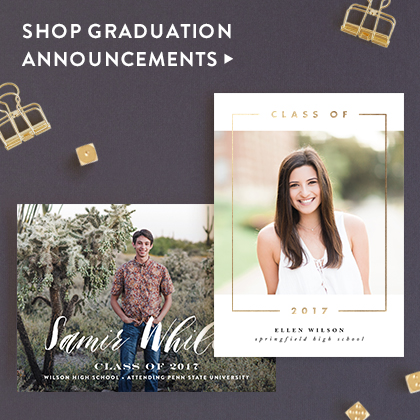 Graduation Invitations Nav Ad