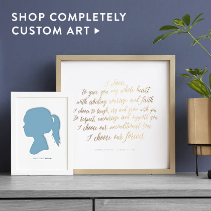 Bespoke Art Nav Ad: Completely Custom