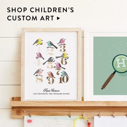 Children's Art Nav Ad: Custom Art