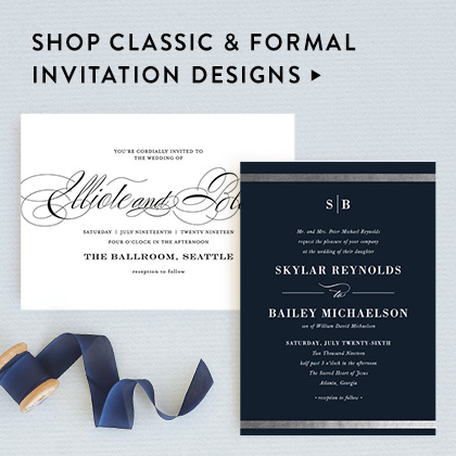 Wedding invitations minted petite invitations 425 x 6 wedding websites stopboris