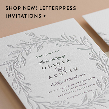 Wedding invitations minted learn about our range of formats wedding websites stopboris Image collections